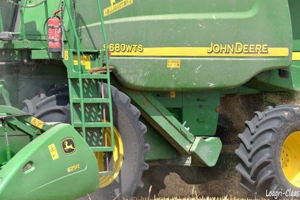 Moisson 2012 -->--> John Deere 9680 WTS