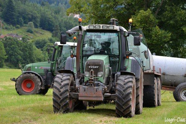 Epandage de Lisier 2012 --> --> Fendt 818 Vario TMS & Fendt Farmer 411 Vario
