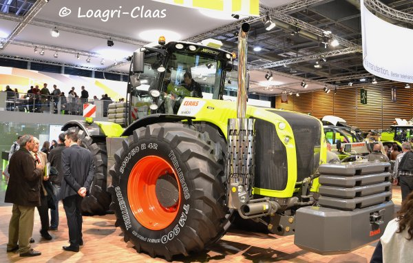 SIMA 2013 --> --> Stand Claas