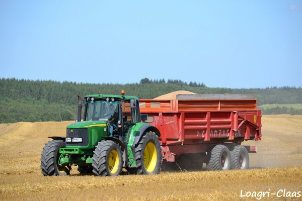 Moisson 2012 - Big Harvest --> --> Claas Lexion 770 TT