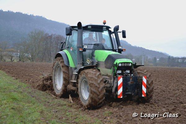 Déchaumage 2013 --> --> Deutz-Fahr Agrotron M600