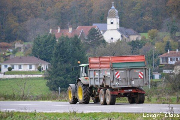 Moisson Du Maïs 2012 --> --> Claas Lexion 660