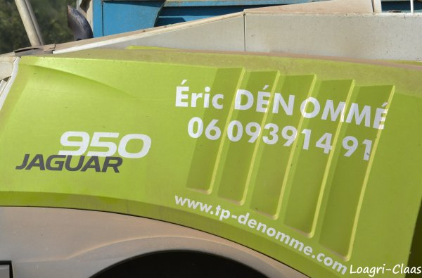Ensilage de Maïs 2012 --> --> Claas Jaguar 950
