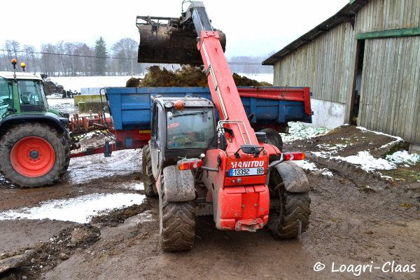 Transport de Fumier 2013 --> --> Fendt 712 Vario