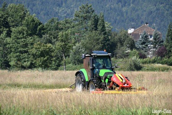 Fauchage 2012 --> --> Deutz-Fahr Agrotron K420