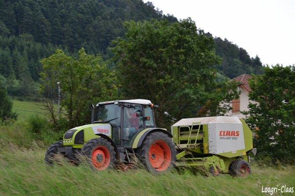 Pressage 2012 --> --> Claas Celtis 456 RX