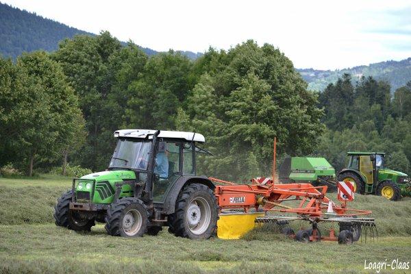 Andainage 2012 --> --> Deutz-Fahr AgroPlus 67