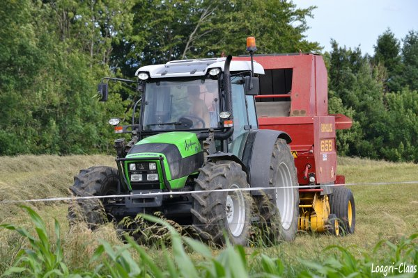 Pressage 2012 --> --> Deutz-Fahr Agro Farm 85