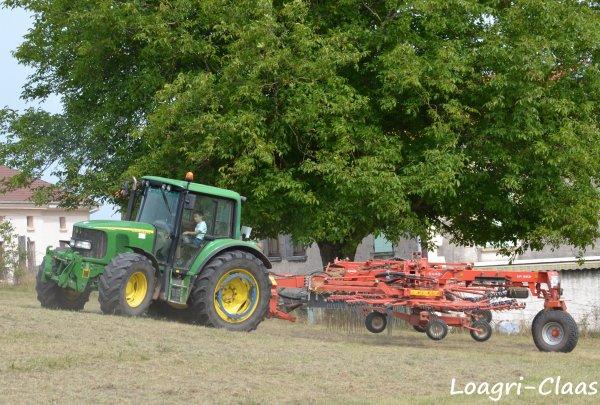 Andainage 2012 --> --> John Deere 6420