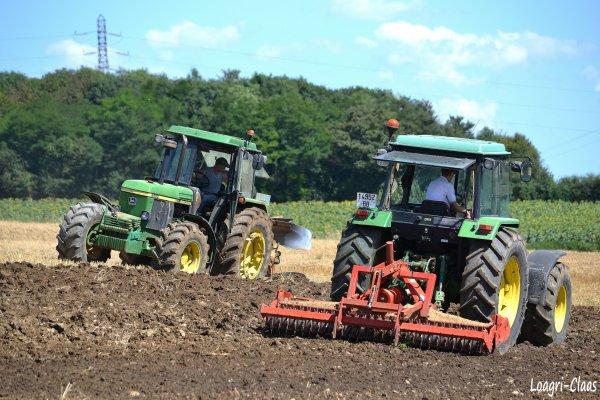 Préparations des Terres 2012 --> --> John Deere 3650