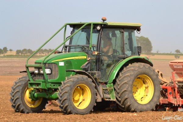 Semis de Colza 2012 --> --> John Deere 5820