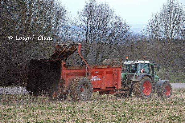 Epandage de Compost 2013 --> --> Fendt 820 Vario TMS