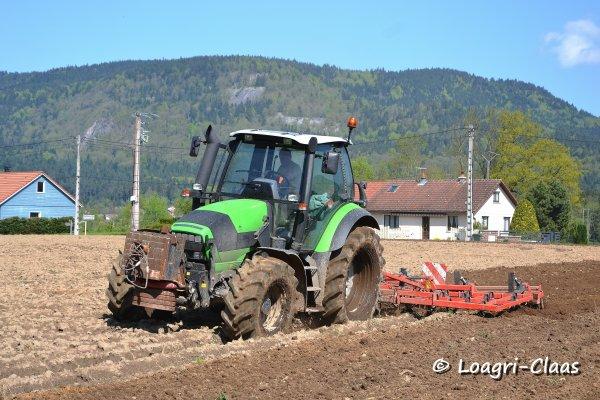 Préparations des Terres 2013 --> --> Deutz-Fahr Agrotron M600