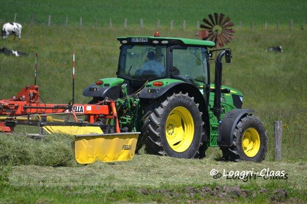 Andainage 2013 --> --> New John Deere 6115R