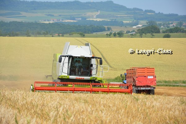 Moisson 2013 --> --> New Claas Lexion 650