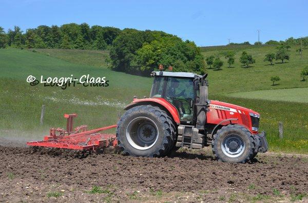 Préparations des Terres 2013 --> --> Massey-Ferguson 7619 Dyna-6