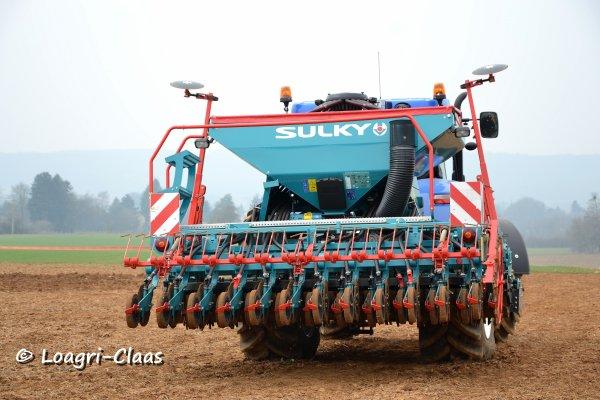 Démonstration de Travail du Sol / Semis --> --> New-Holland T7.235