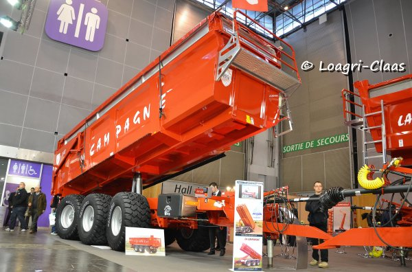 SIMA 2013 --> --> Divers Benne/Autochargeuse/Transbo'