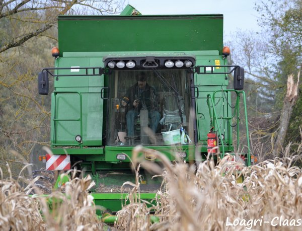 Moisson Du Maïs 2012 --> --> John Deere T 660