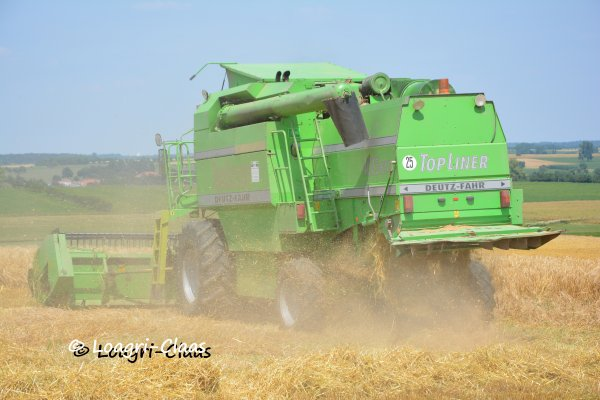Moisson 2013 --> --> Deutz-Fahr Top Liner HTS 4075