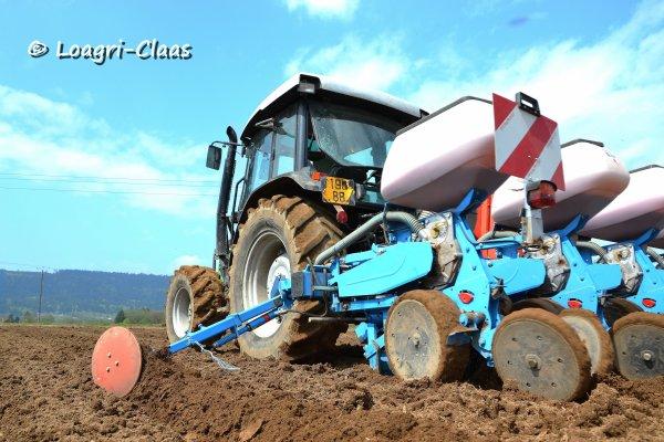 Semis de Maïs 2013 --> --> Deutz-Fahr AgroPlus 67