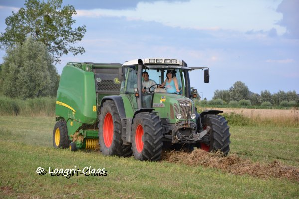 Pressage 2013 --> --> Fendt 711 Vario & New John Deere 990
