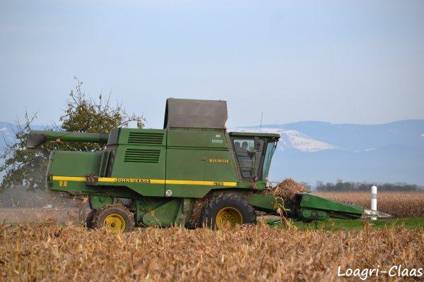 Moisson du Maïs 2012 --> --> John Deere CTS