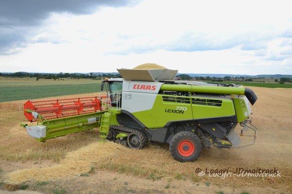 Big Harvest - Moisson 2014 --> Claas Lexion 770 TT