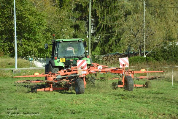 Andainage 2014 --> Deutz-Fahr Agrotron 90 mk3