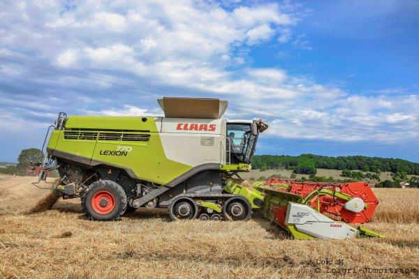 Moisson 2014 - Claas Lexion 770 Terra Trac