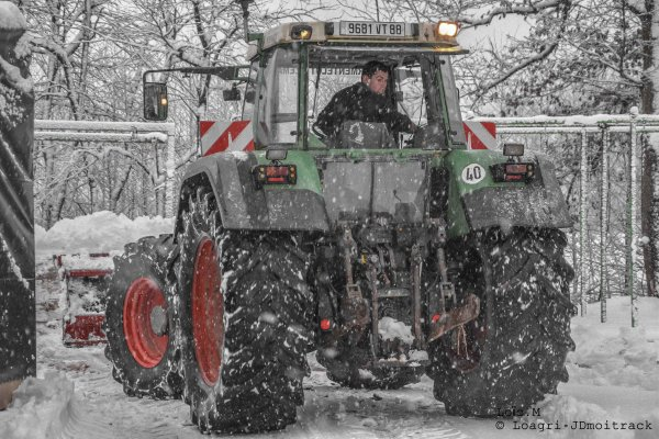 Déneigement 2015 | Fendt Favorit 824