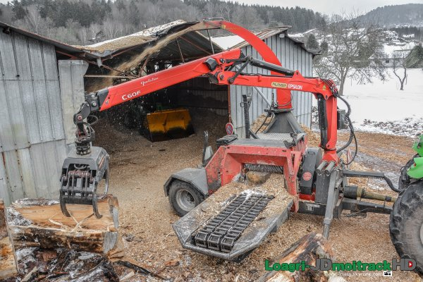 Broyage de Bois | Deutz-Fahr Agrotron X720