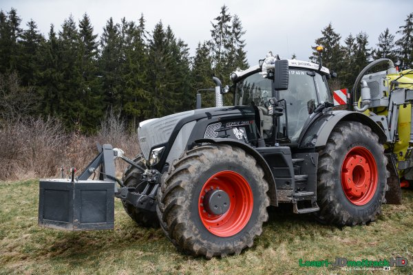 Nouveau Fendt 939 Vario S4 Black Beauty | Epandage de Lisier 2015 | PART II