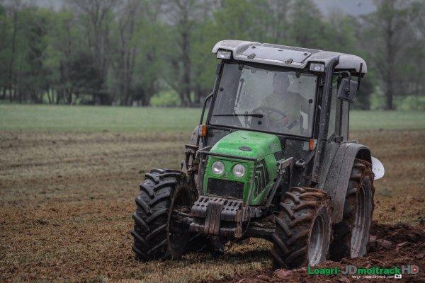 Labour & Epandage de Fumier 2015 | Deutz-Fahr AgroPlus 67 & Huard | John Deere 5090r & Jeantil