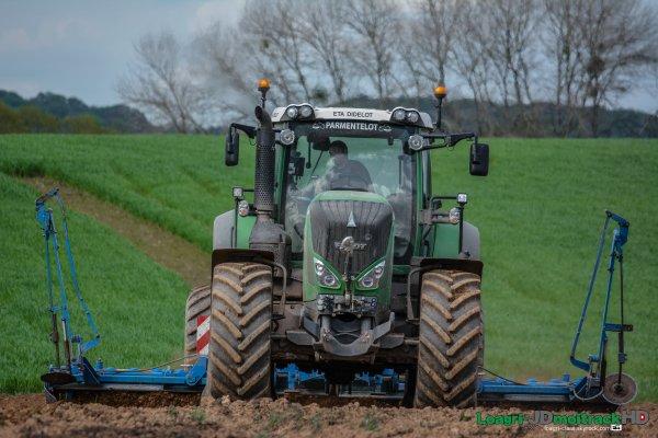 Préparations des Terres 2015 | Fendt 828 Vario S4 | HR Lemken 6m | ETA Didelot |