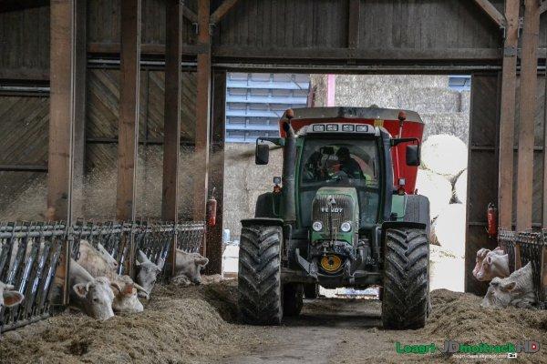 Paillage 2015 | Trioliet 40m3 de 3 vis | Fendt 718 Vario TMS