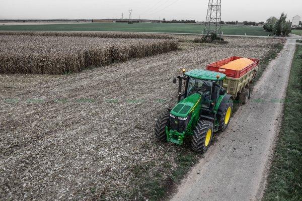 Moisson du Maïs Grain 2015 | John Deere 9880i STS & Capello 948 & John Deere 7230R