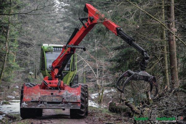 Débardage de Bois | WF Trac 2040
