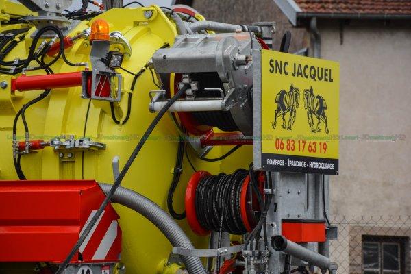 Prototype Hydrocureuse Pichon = Unique au Monde & Fendt 828 S4 BB - SNC JACQUEL