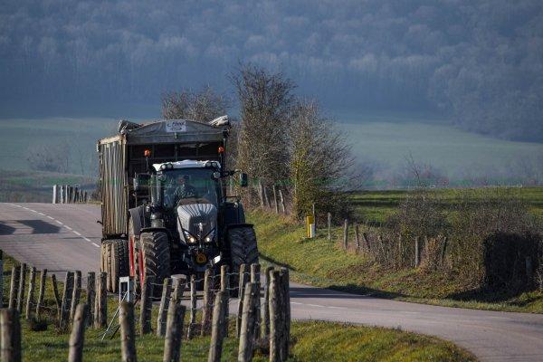 NOUVEAU Fendt 933 Vario S4 Black Beauty au Transport de Plaquette Forestière