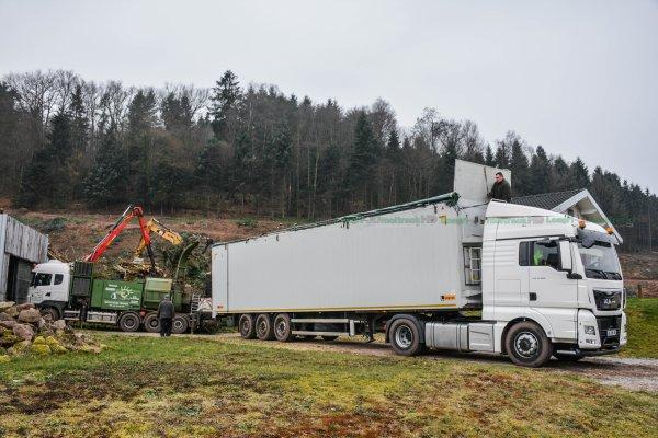 Broyage de Bois 2016 | Camion Scania R620 + Broyeur Pezzolato