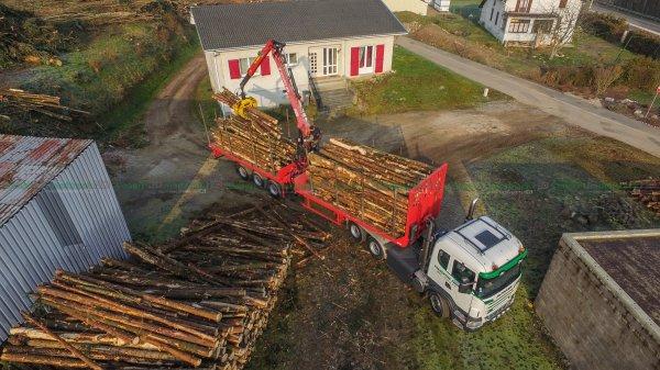 Transport de Bois 2016 | Scania R730 | Parmentier Frères