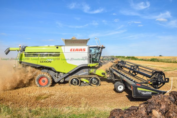 BIG Harvest 2016 in FRANCE | MC Don 13.70m & 780 TT = UNIQUE in EUROPE !!!