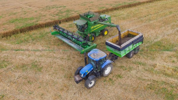 Moisson 2016 | Nouvelle Moissonneuse John Deere T670i | Demo Tour France 2016