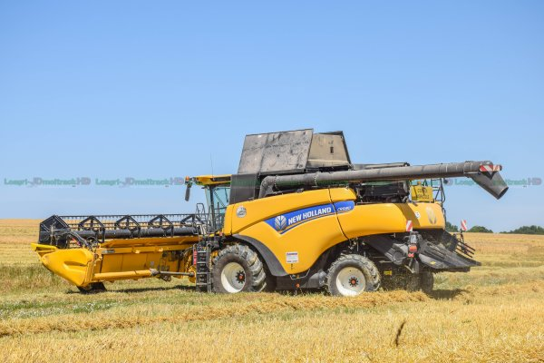 Moisson 2016 | New-Holland Cr9.80 & 980 | ETA Brocard
