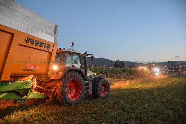 Ensilage de Maïs 2016 de Nuit | NEW Claas Jaguar 860 | ETA Vuillemin