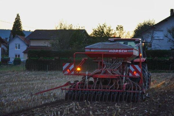 Semis de Couvert Végétal d'Automne 2016 | Kubota M110GX & Horsch