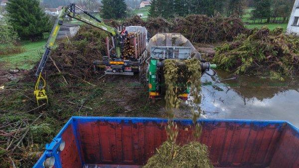 Broyage Forestier / Végétaux | Broyeur 3 Essieux Komptech SMET