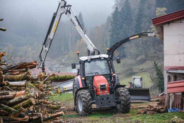 Broyage de Bois 2016 | Same Iron 150 & MusMax Terminator 7 L !
