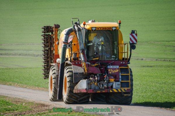 Epandage de Digestat 2017 | Automoteur Vredo VT3936 17000